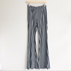 Fashionomics Striped Flare Pants